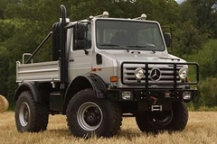 Off-Roading in the Unimog